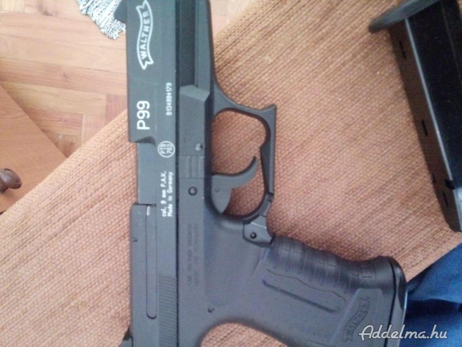 Gáz riasztó pisztoly eladó