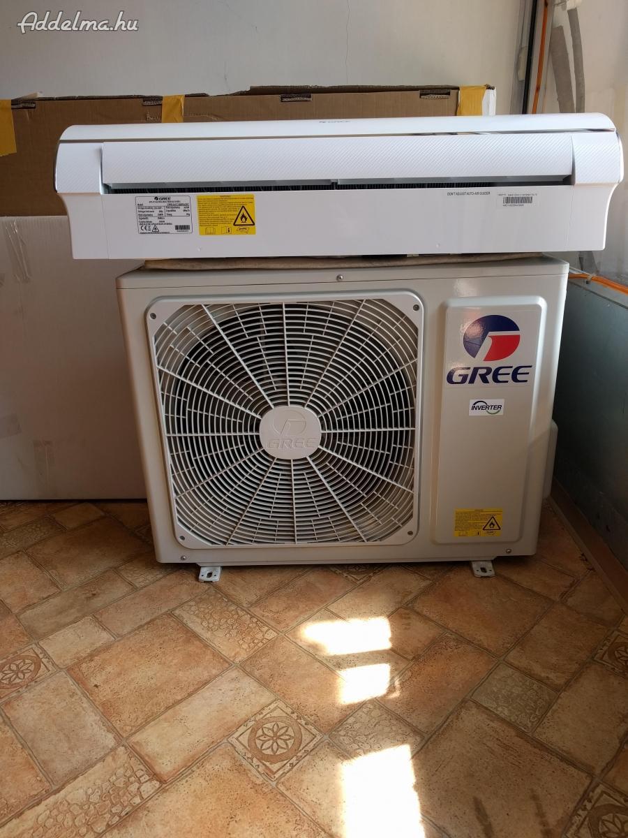 GREE hűtő-fűtő klíma újszerű állapotban eladó: 160 E Ft