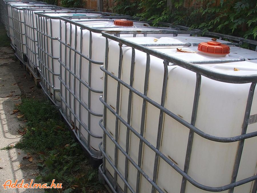 IBC tartály, 1000 liter, Eladó. Hódmezővásárhelyen
