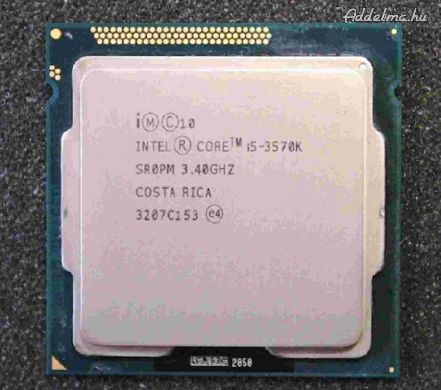 Intel 3570K 1155 Processzor