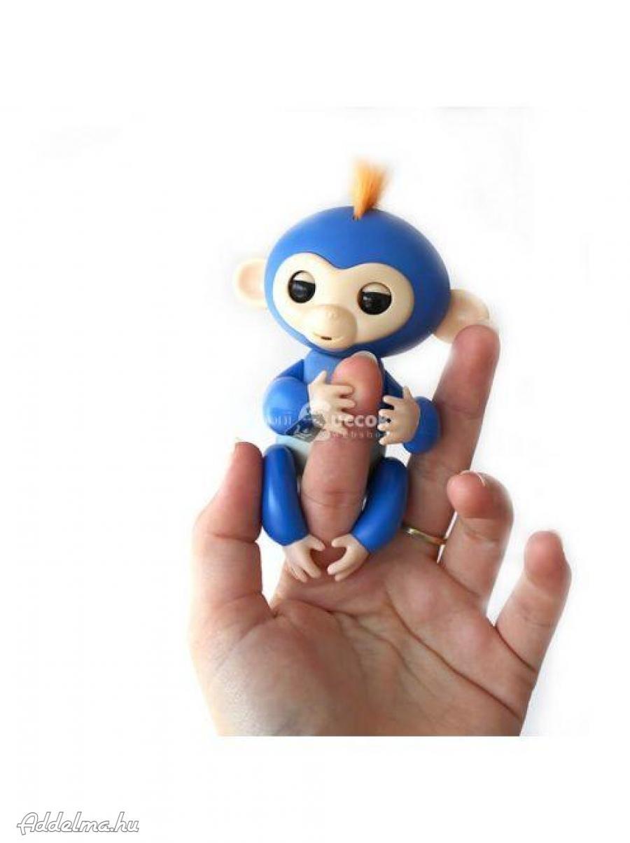 Interaktív majmos játék (kék)