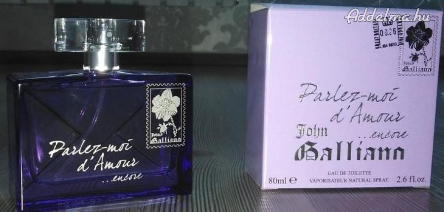 John Galliano parfüm eladó