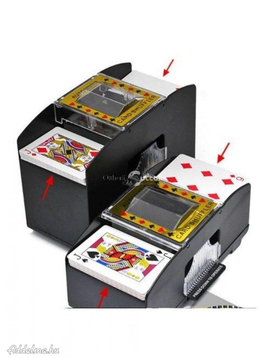 Kártyakeverő gép (automata)