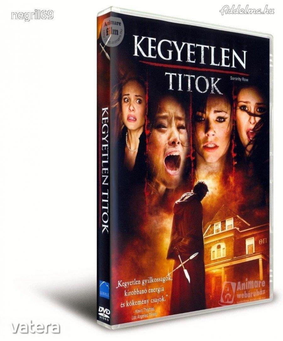 Kegyetlen titok DVD film eladó