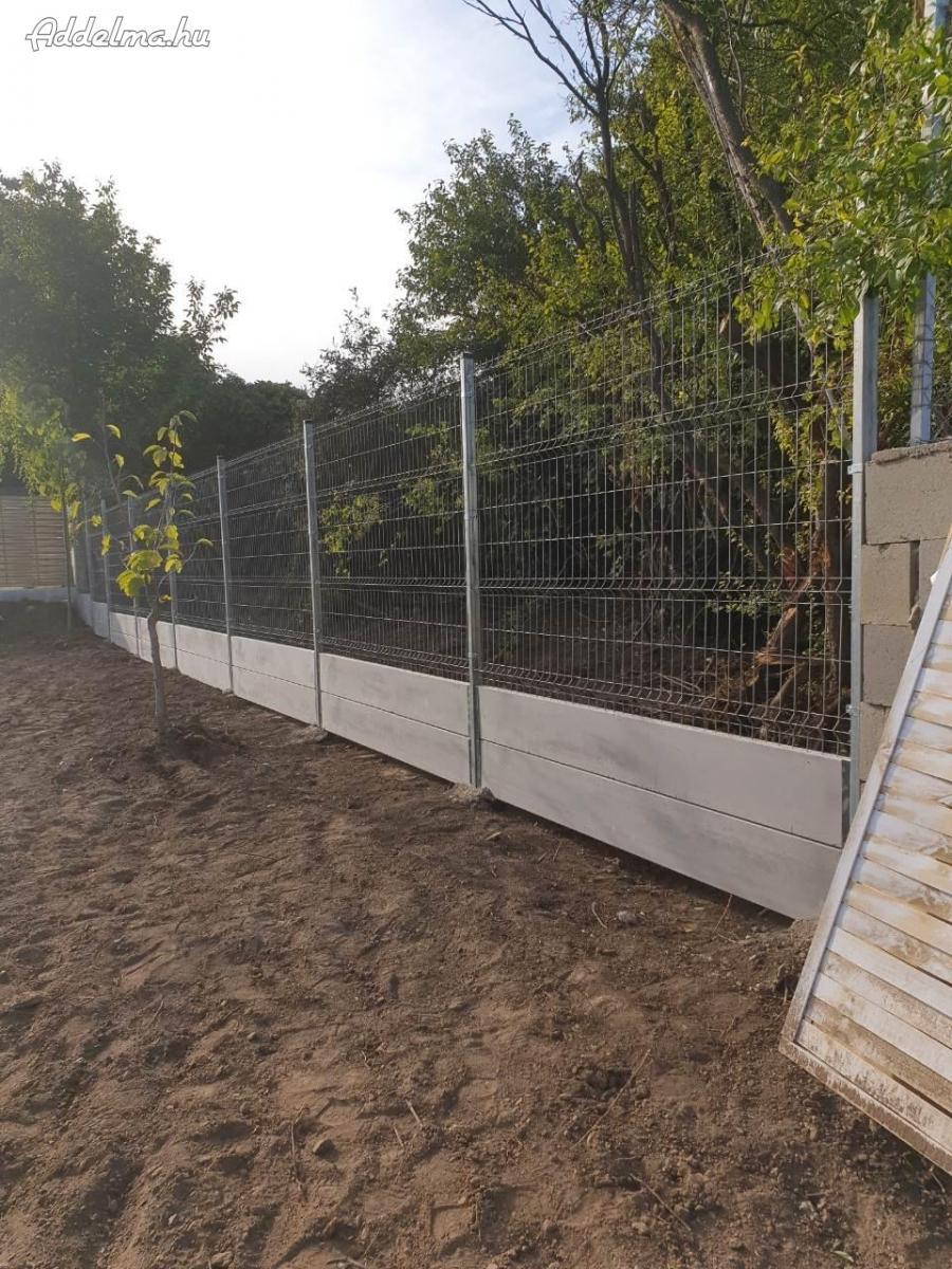 Kerítés építés vadháló drótháló drótfonat szögesdrót