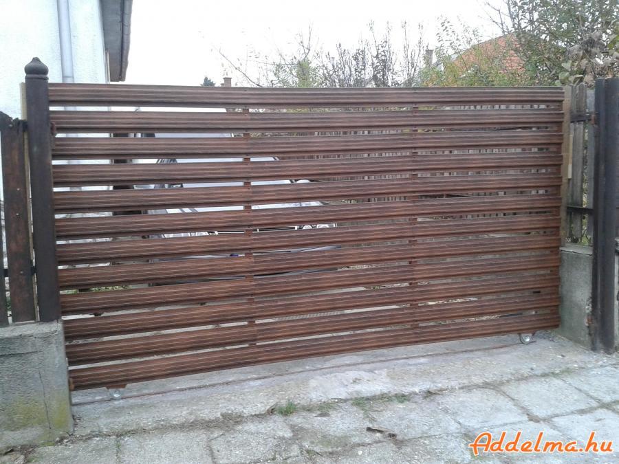 Kerítésléc gyártás horganyzott acélból, országosan