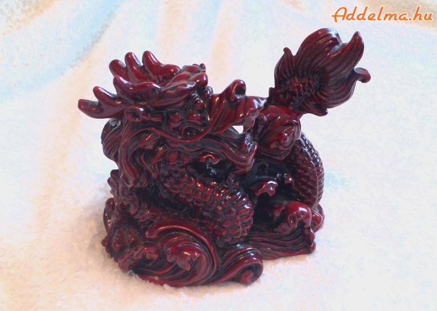 Kínai sárkány szobor eladó