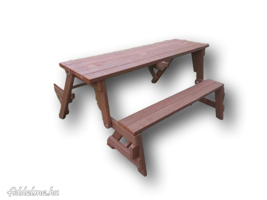 Kültéri padok asztallal