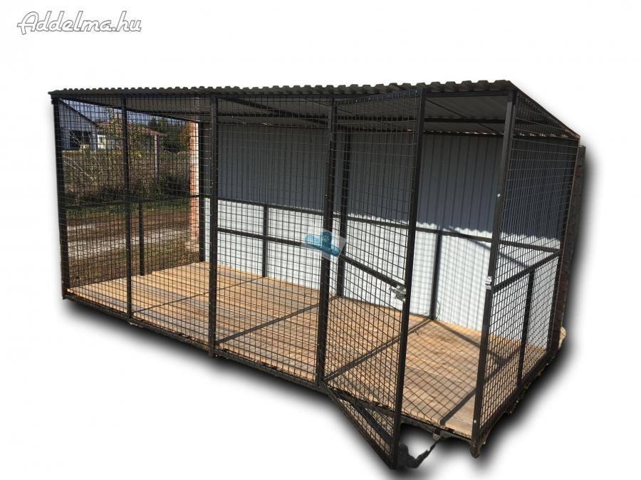 Kutya kennel 4x2m