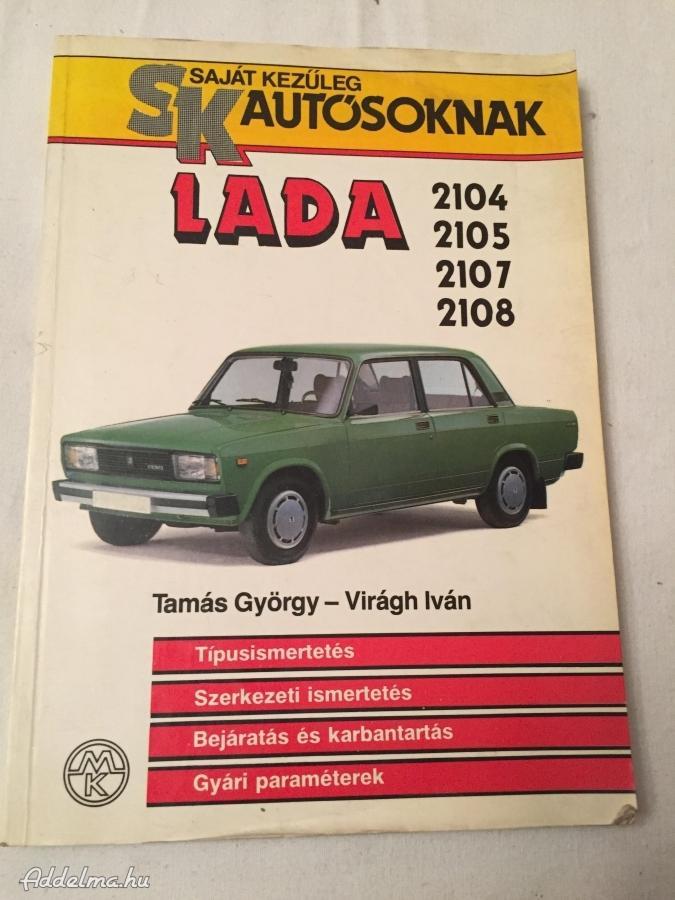 Lada 2104 2105 2107 2108 könyv