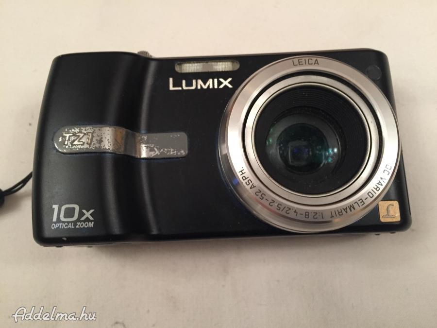 LUMIX TZ 1 PANASONIC fényképezőgép fél automata DMC-TZ1