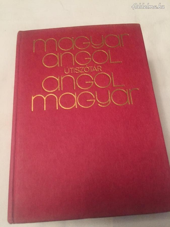 Magyar-Angol és Angol –Magyar Útiszótár 1974
