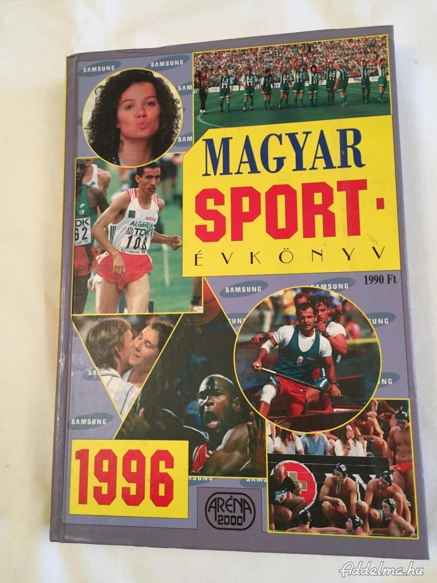 MAGYAR SPORT –ÉVKÖNYV     1996