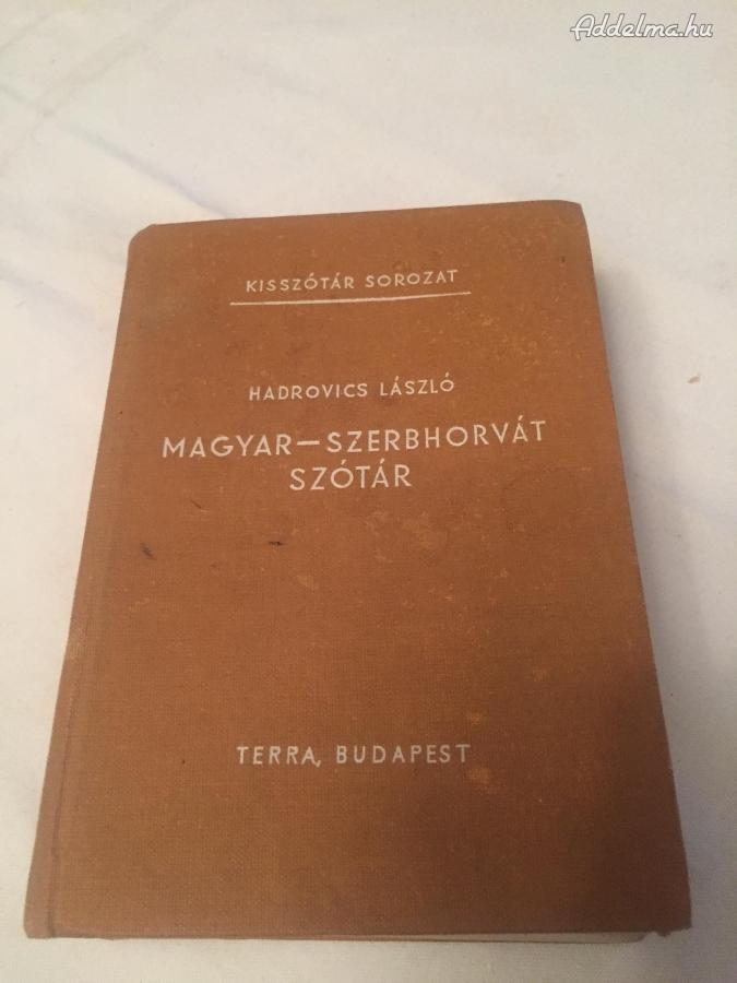 Magyar-Szerbhorvát Szótár