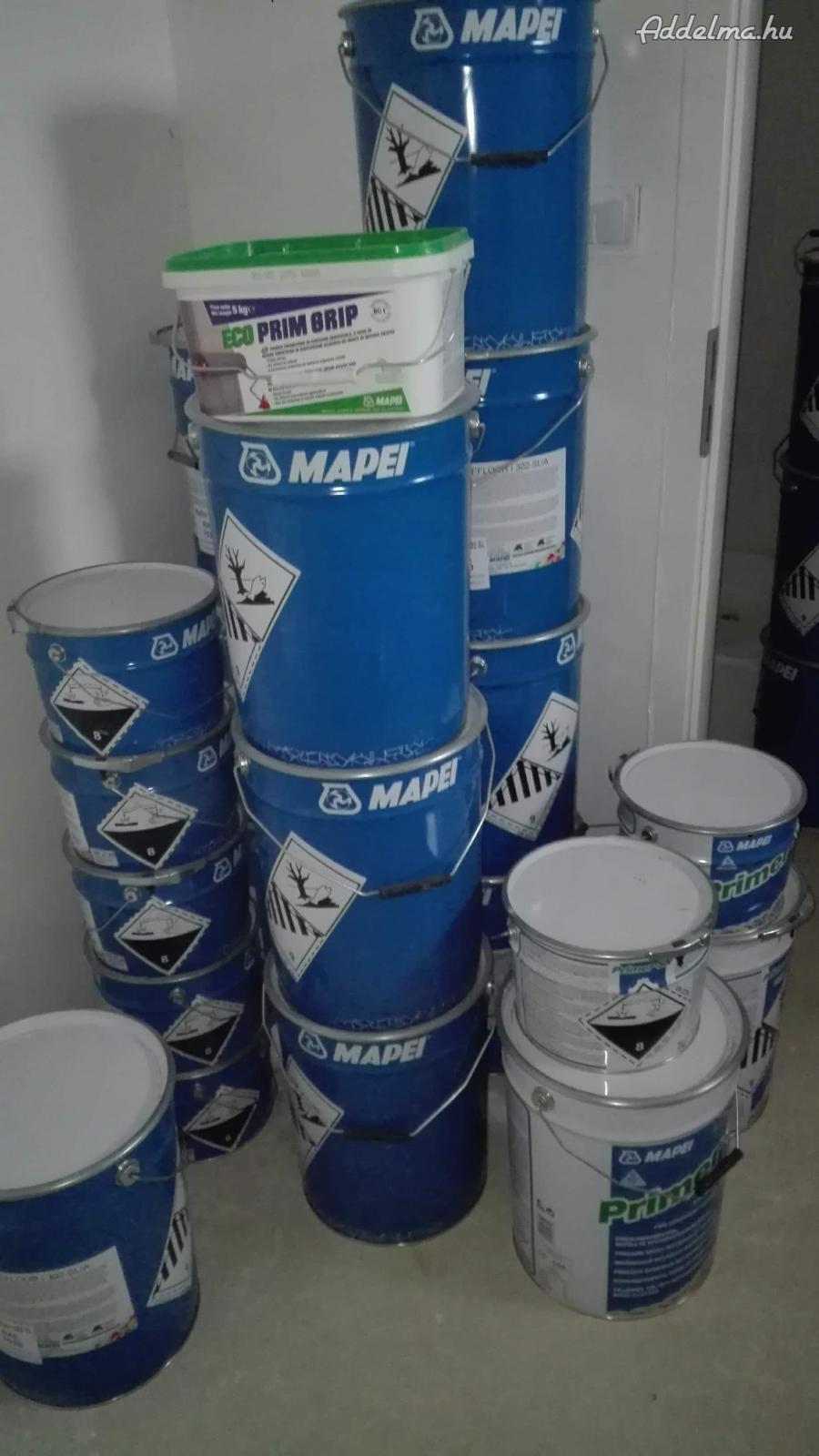 Mapei műgyanta eladó