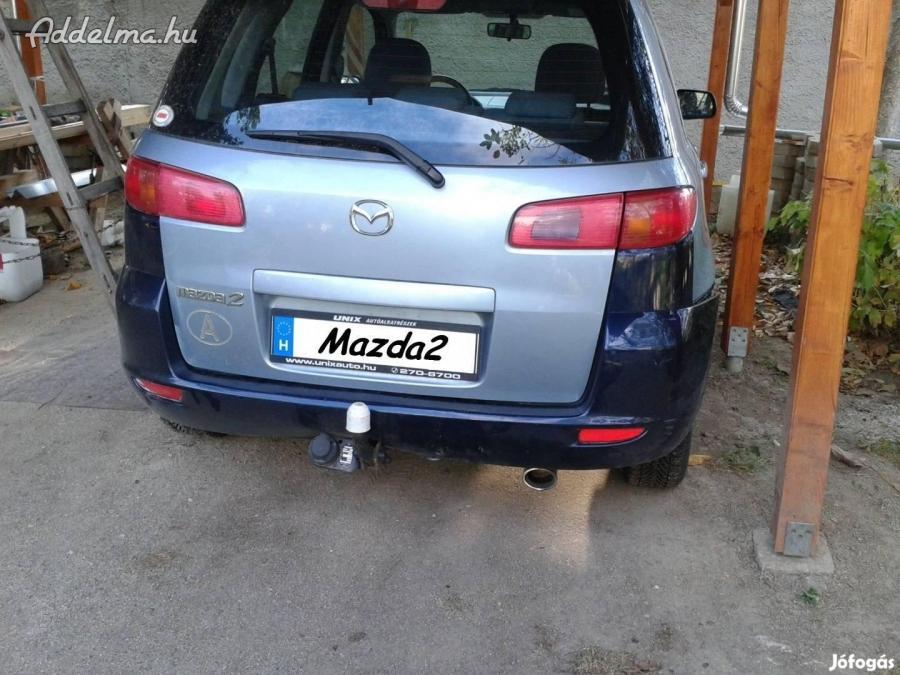 Mazda 2 hátsó lökhárító