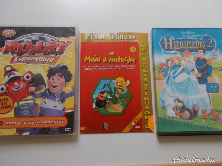 Mese és egyéb filmek dvd  300 Ft Leázazva