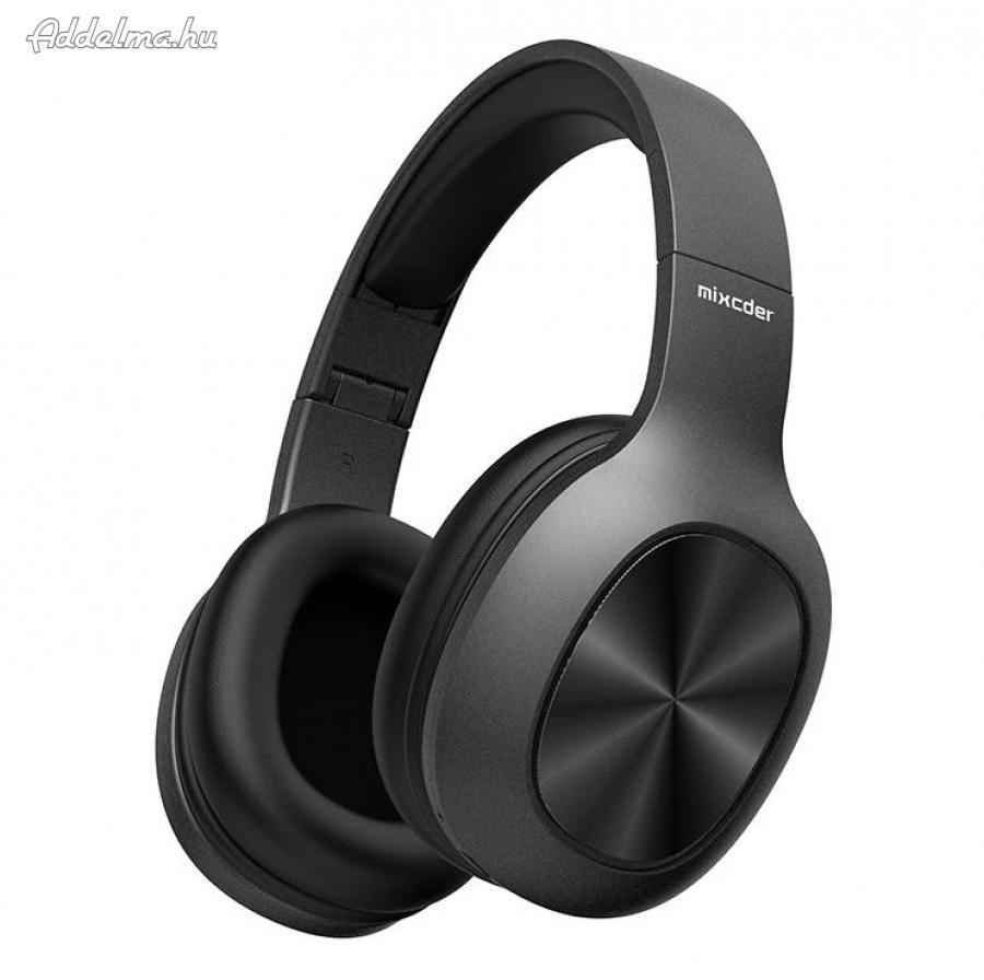 Mixcder Bluetooth 5.0 Headset Fejhallgató SD kártya olvasóval