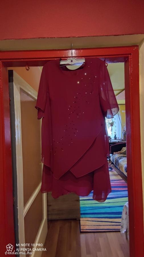 Modern, csodaszép, elegáns muszlin ruha eladó