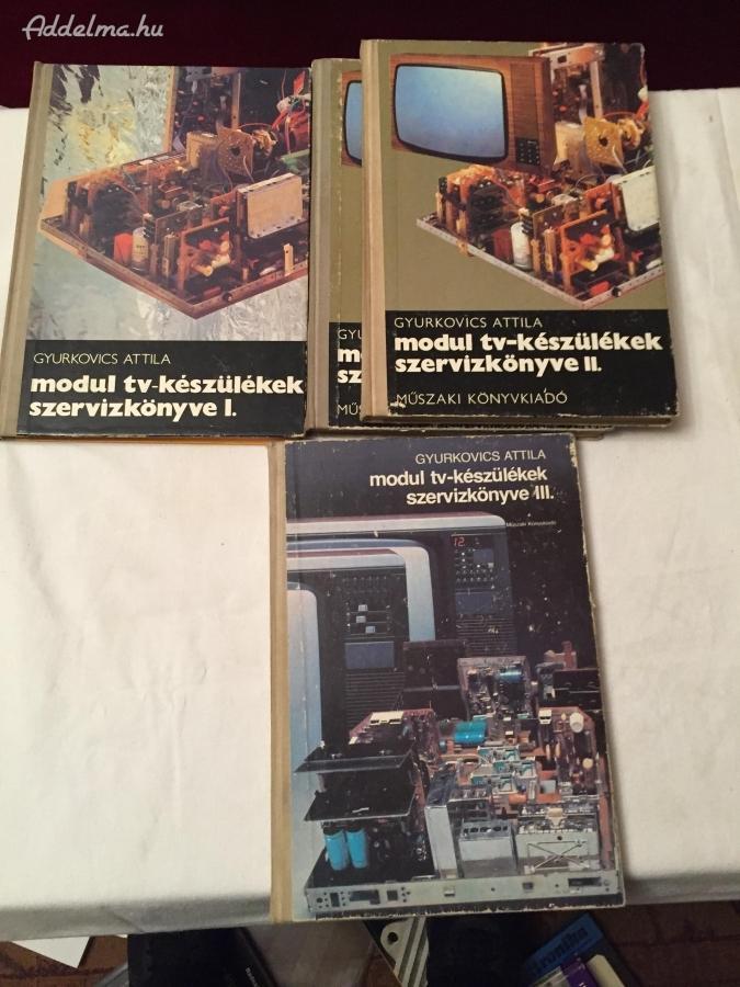 Modul TV készülékek szervízkönyve I-II-III