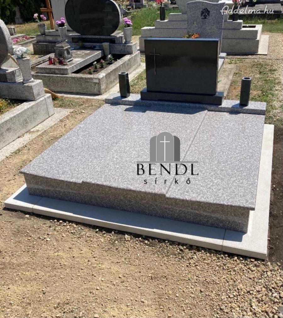 Műkő gránit sírkő síremlék Győr