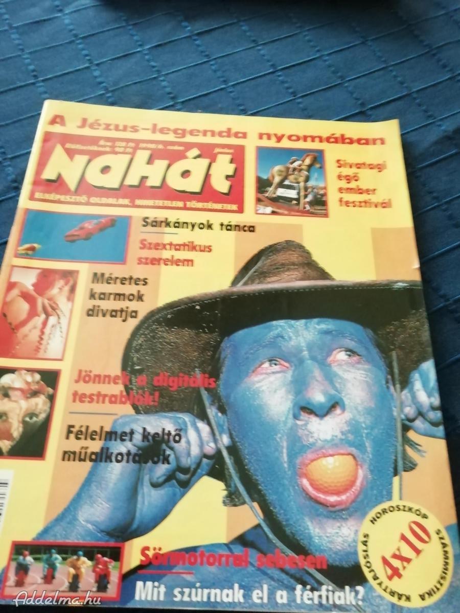 Nahát magazin régiség