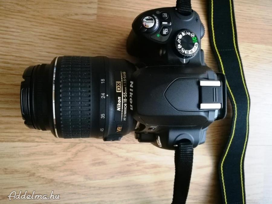 Nikon D60 Fényképezőgép