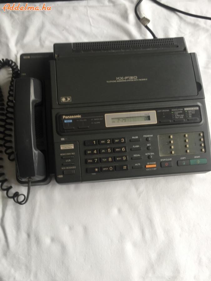 Panasonic KX-F130 TEL/FAX/Fénymásoló Üzenetrgzítő