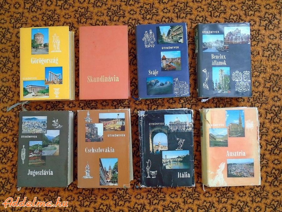 Panoráma útikönyvek 8db
