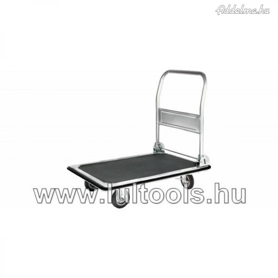 Platós kocsi lehajtható fogantyúval 250kg-ig,.,.,.,.,.,,