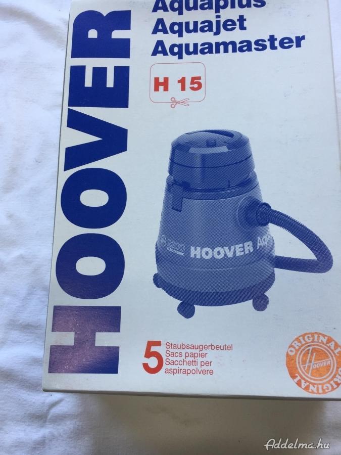 Porzsák takarítógépbe HOOVER H15 tipus