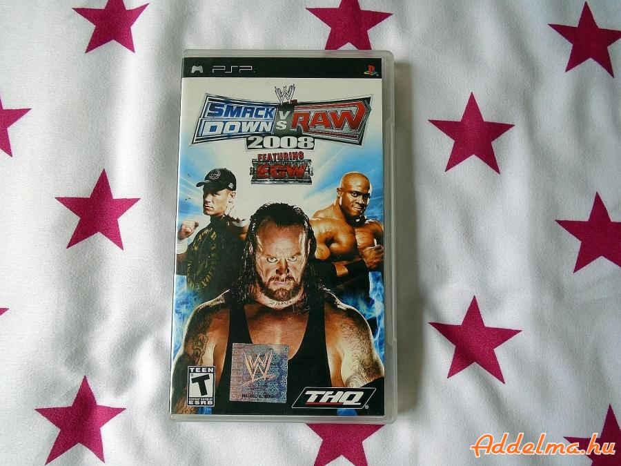 PSP SmackDown vs. Raw 2008.