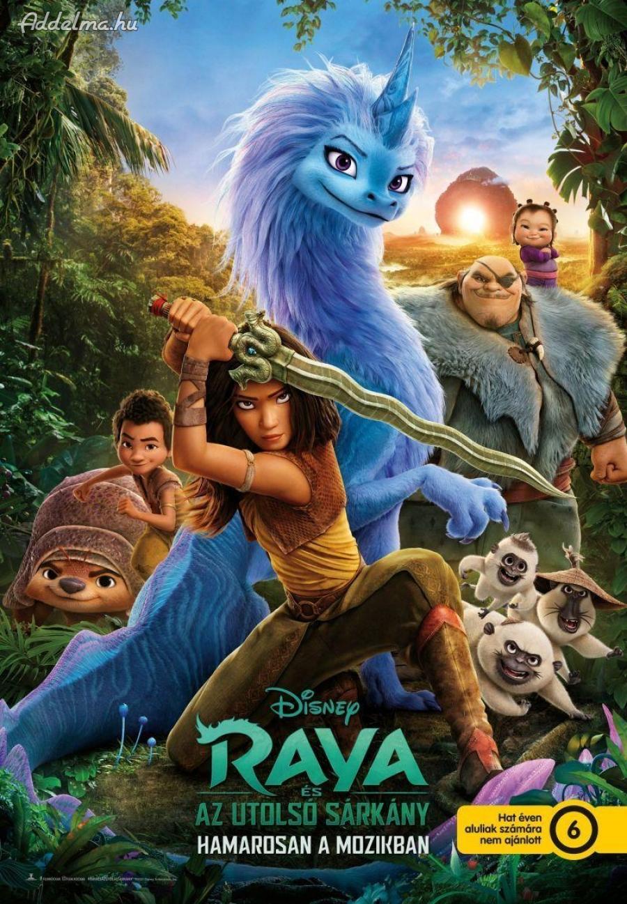 Raya és az utolsó sárkány film mozi plakát poszter