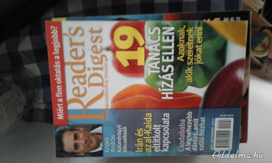 Reader's Digest magazingyűjtemény jó állapotban eladó