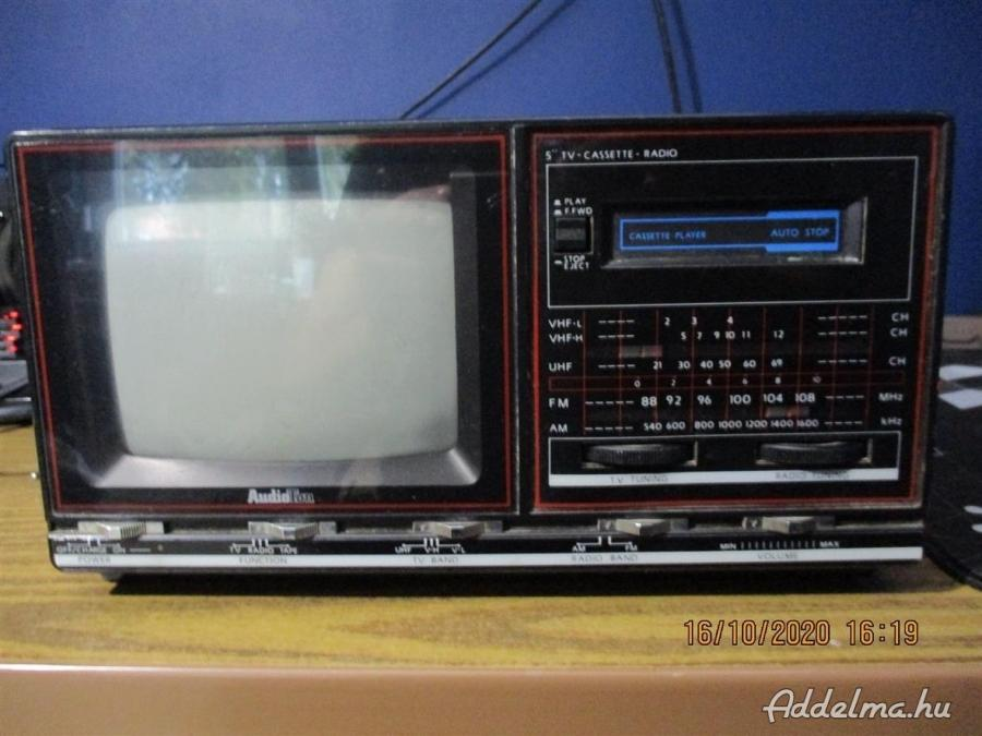 Retro Audioton T-6030 kis tv