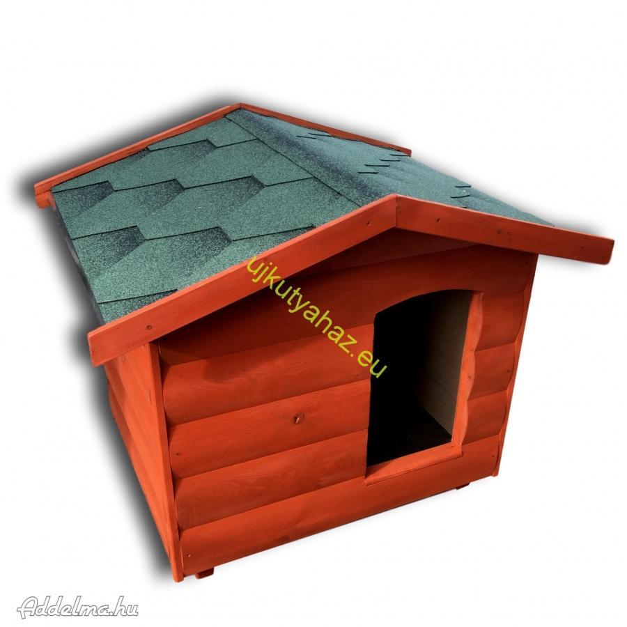 Rönkhatású 80x100 kutyaház