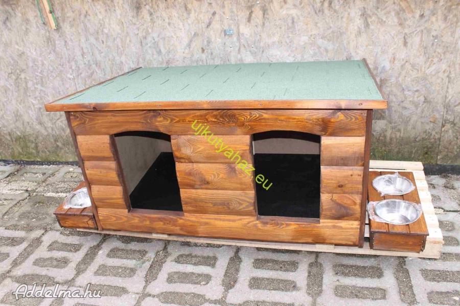 Rönkhatású kutyaház 140x90
