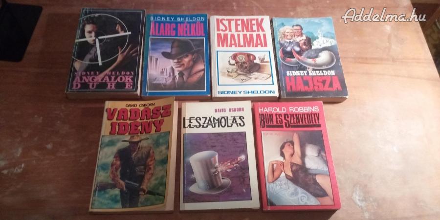 Sidney Sheldon könyvek és más