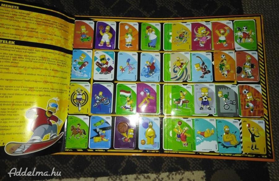 Simpsons album hűtőmágnesekkel eladó
