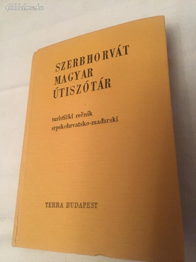 Szerbhorvát-Magyar Útiszótár 1967