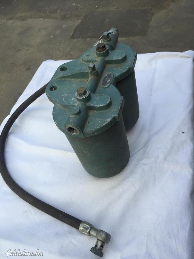 Üzemanyag szűrő: előszűrő, finomszűrő betétekkel