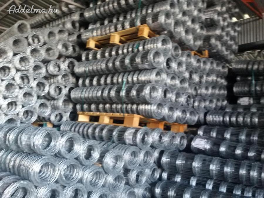 Vadháló drótfonat drótháló kerítés építés szögesdrót
