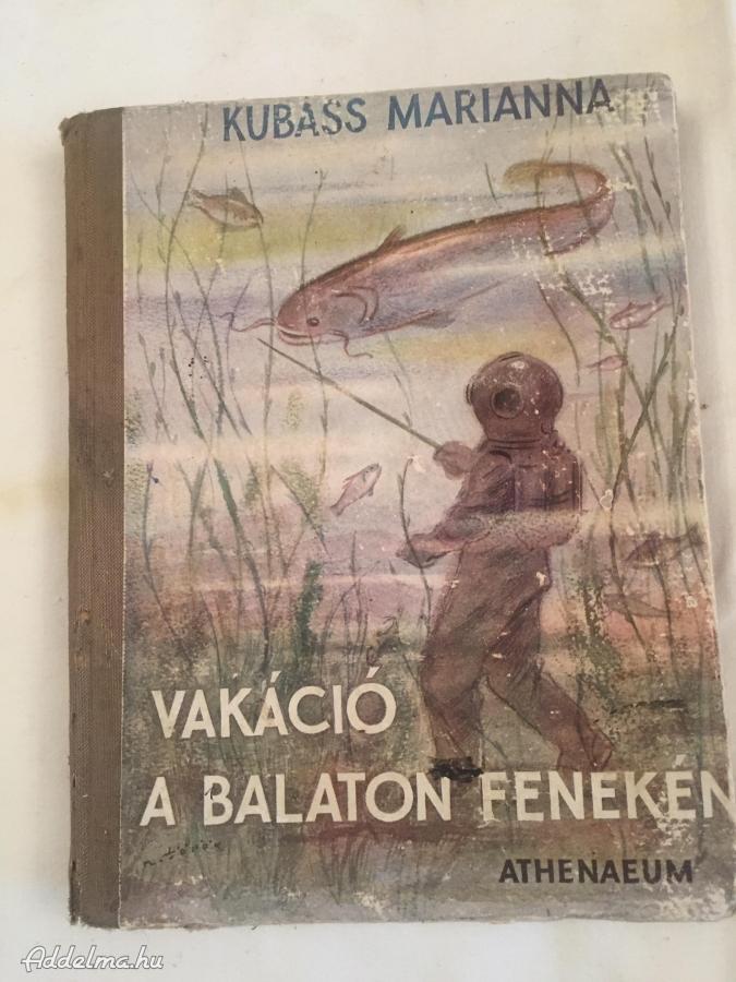 Vakáció a Balaton fenekén 1952