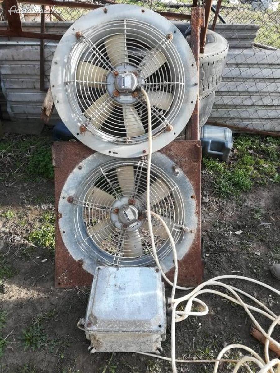 Ventilátorok 380V