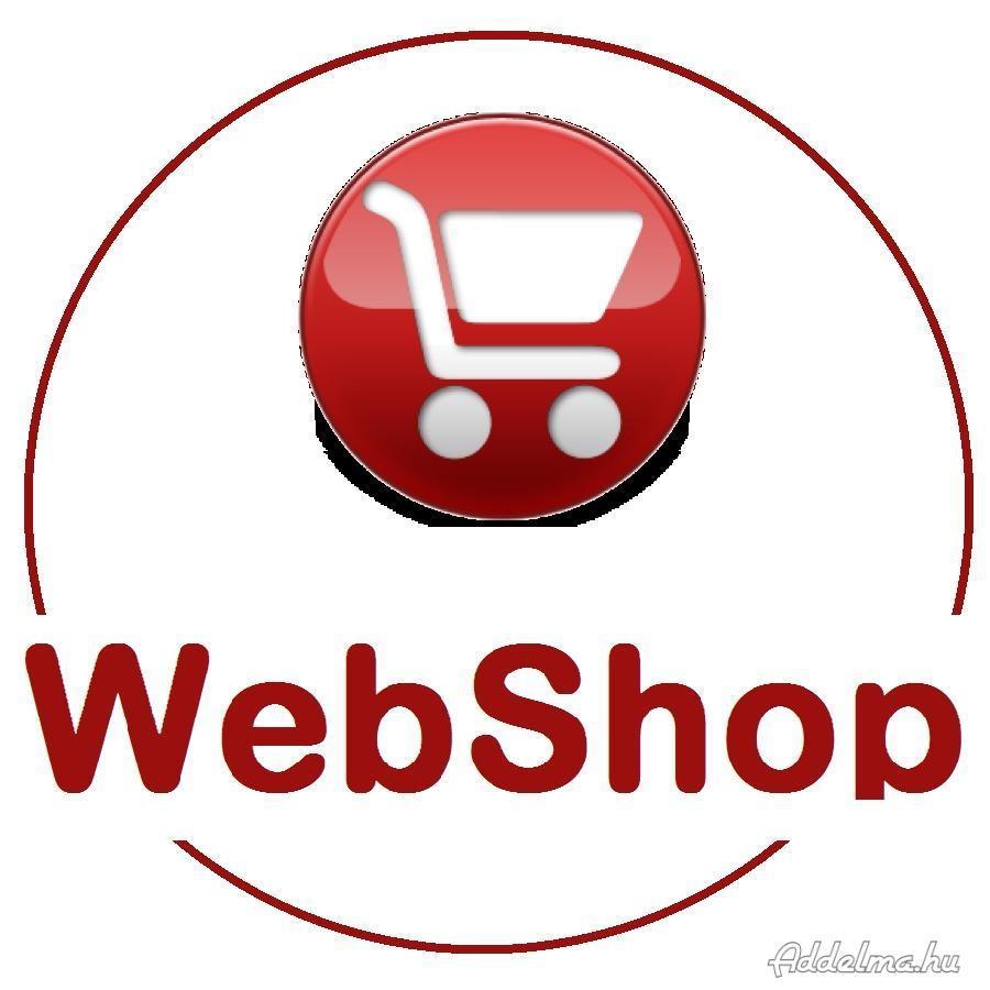 Web áruház, webshop készítése