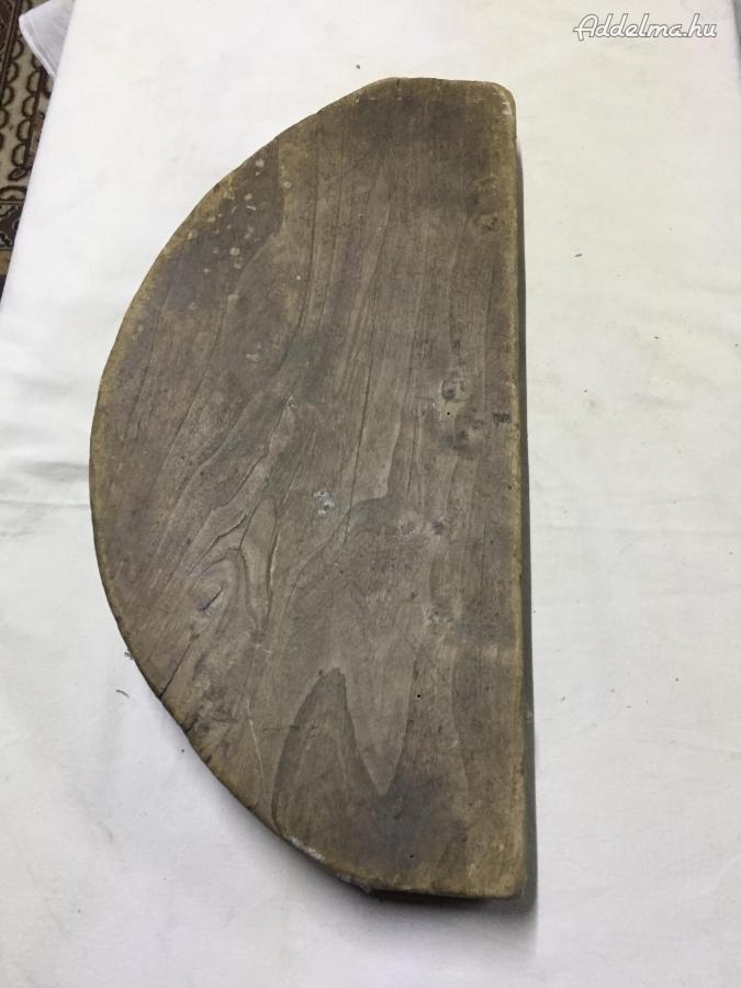 Zakó vasaláshoz vasalófa 1800-as évekből.
